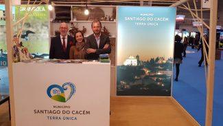 El Ayuntamiento de Santiago do Cacém promueve las potencialidades turísticas en la BTL