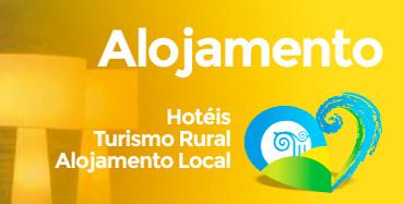 Alojamento - Hotéis, Turismo Rural, Alojamento Local