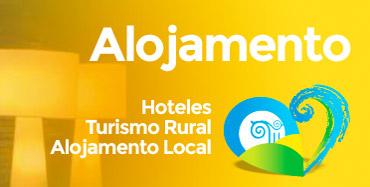 Alojamento - Hoteles, turismo rural, alojamento local